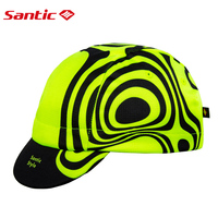 Santic Men Women Cycling Caps Free Size MTB Road Bike Hats Caps Feleece Outdoor Sport Sunscreen Caps WM8C09096