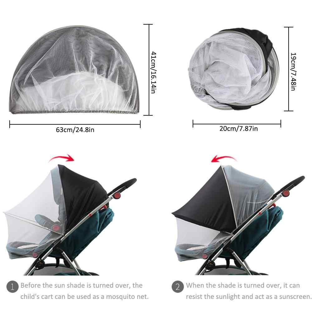 Многофункциональная детская коляска, универсальная противомоскитная сетка, солнцезащитный козырек, противоуф, складываемая москитная сетка, супер защита от ультрафиолета, от солнца, козырек