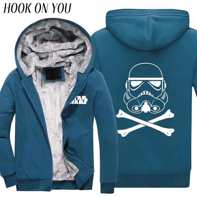 Stormtrooper Cool Men's Thick & Warm Casual Hoodie