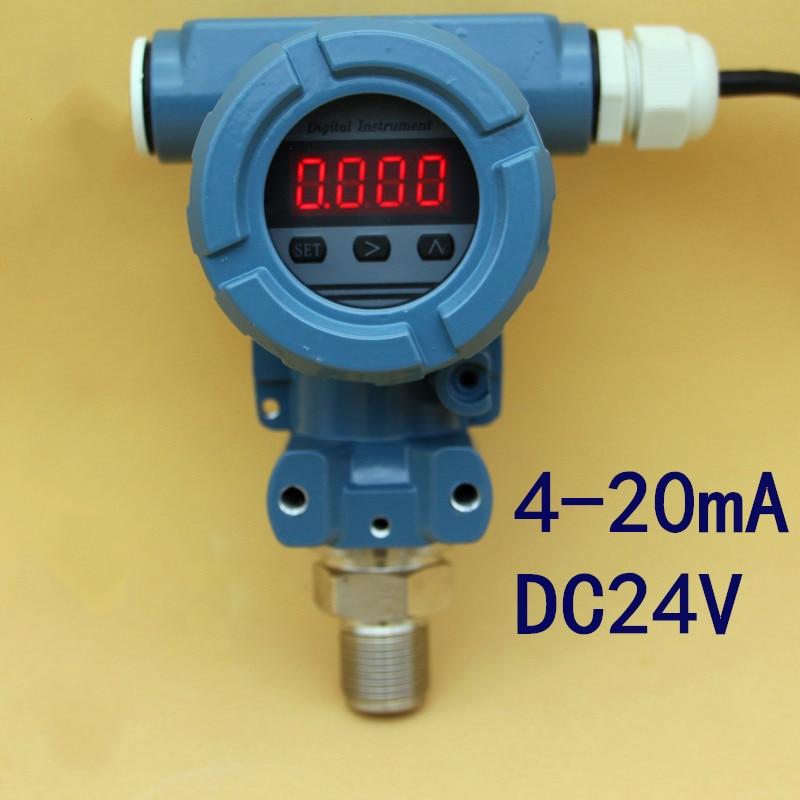 LED 2088 Digitale Intelligente Trasmettitore di Pressione Sensore di Pressione Digitale 4-20MALED 2088 Digitale Intelligente Trasmettitore di Pressione Sensore di Pressione Digitale 4-20MA