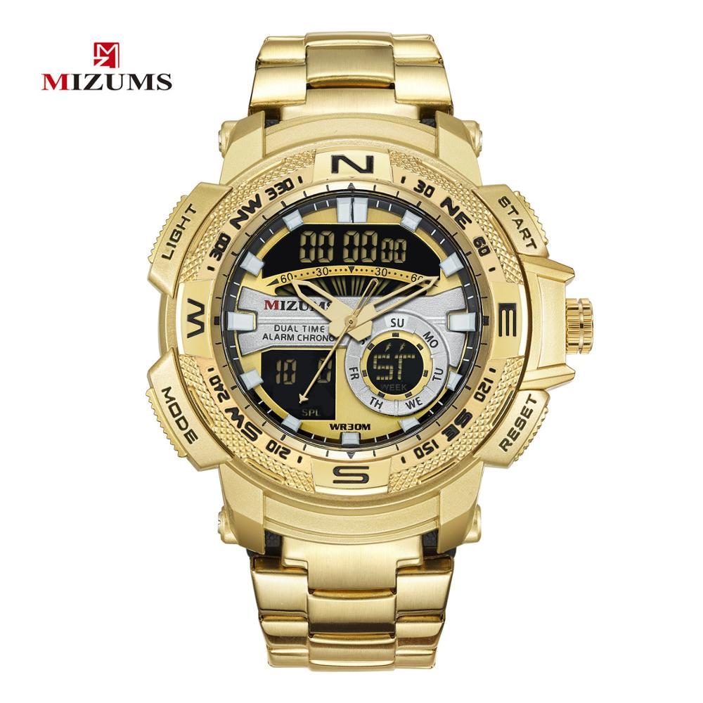 Men's Watches Quartz LED Digital Sport Watch Chronograph Stop Wristwatch For Male Clocks Dual Time Relogio Masculino #a