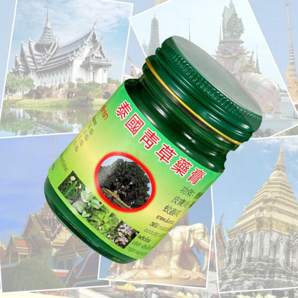 New 1PC 20g Tiger Thai Herbal Balm Pain Ointment Refresh Oneself Influenza Cold Headache Dizziness Summer Mosquito in Makeup Sets from Beauty Health