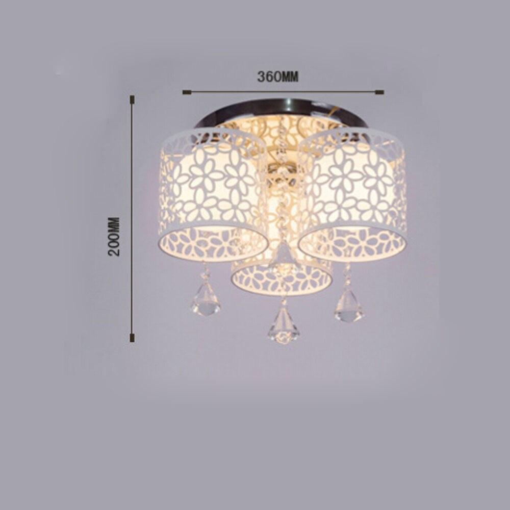 Gut Aliexpress : Led Moderne Kristall Deckenleuchte E27, Schlafzimmer Entwurf