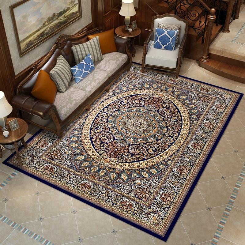 300x400 CM élégant américain grande taille Floral salon tapis moderne européen tapis pour salon Designer rouge tapis