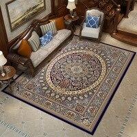 300x400CM Elegant American Large Size Floral Livingroom Rug Modern European Carpets For Living Room Designer Red Rugs
