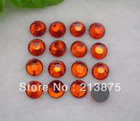 Wholesale SS12 3mm DMC Hotfix Crystals Rhinestone Beads Orange Red 1440pcs Bag CPAM Free Use For