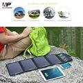 Allpowers solar carregador 18 w 5 v painel solar carregador de telefone carregador de viagem solar para iphone samsung htc ipad, tablet PC e assim por diante.