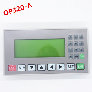 Image 1 - OP320 A text display support xinjeV6.5 support 232 485 422 communications