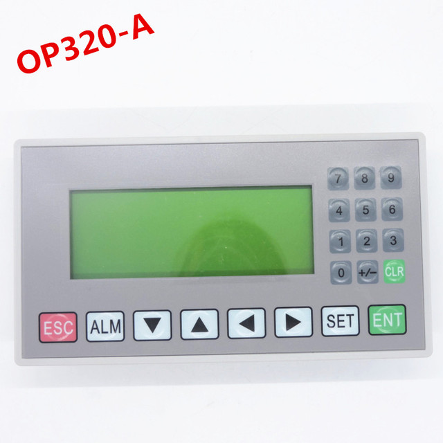OP320 A text display support xinjeV6.5 support 232 485 422 communications