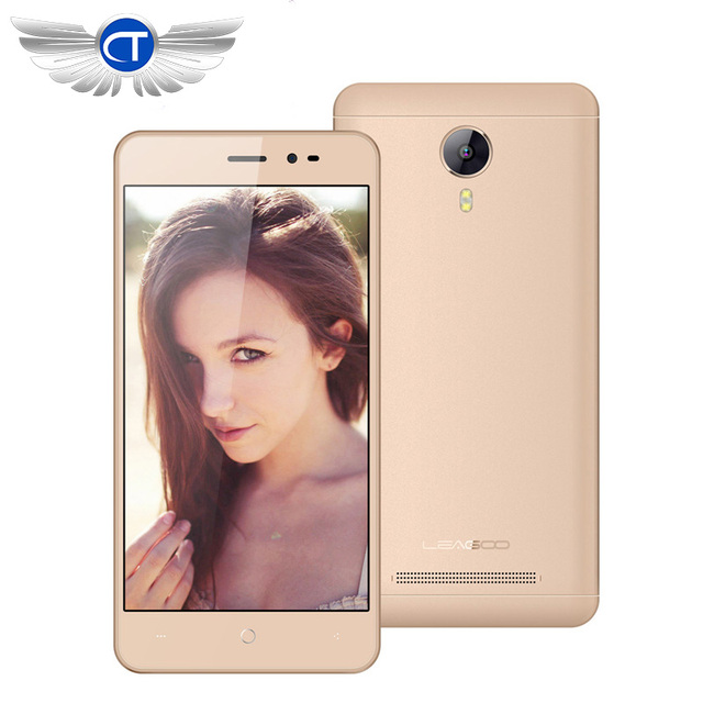New Original Leagoo Z5 5.0inch 3G QHD Mobile Phone Android 6.0 MT6580M Quad Core 1GB+8GB Dual SIM GSM/WCDMA 5.0MP GPS Cellphones