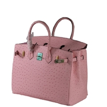Купить с кэшбэком Big Size 35 Fashion Ostrich Pattern Genuine Leather Women Handbag\Bag ladies' Tote Shoulder Bag Messenger Bag~Quality Guaranteed