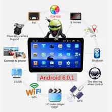 9 pouce Dédiée Volkswagen Android Quad-Core 6.0 Voiture Multimédia Lecteur WIFI Navigateur GPS Téléphone Portable Commande Au Volant
