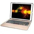 Алюминиевая Bluetooth клавиатура для iPad Pro 12,9 модель A1584/A1652/A1670/A1671 тонкий Защитная крышка с 7 цветов светодиодной подсветкой - 1