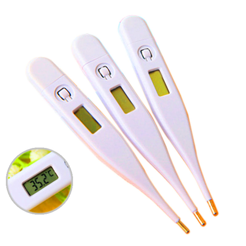 Hot Selling 1Pcs Digital LCD Heating Thermometer Tools Kids Baby Child Body Temperature Measurement