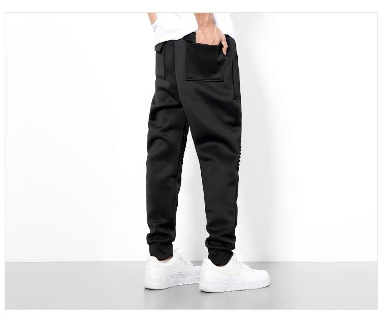 Men Sport Pant Space Cotton Joggers Harem Pants Fashion Hiphop Sport Tracksuit Mens Solid Black Jogging Trousers Sweatpants 3XL (10)