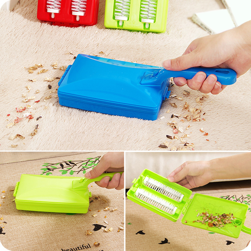 Brushes Heads Handheld Carpet Table Sweeper Crumb Brush Cleaner Roller Tool  Home Cleaning Brushes Accessaries(