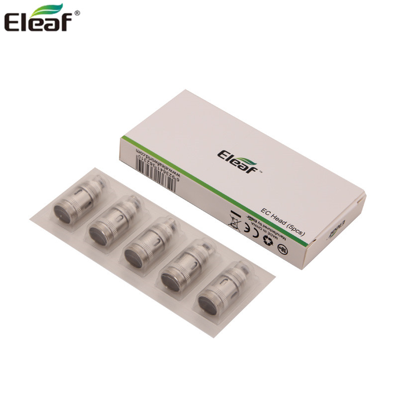 5pcs/lot Original Eleaf ECML Head 0.75ohm Coils Mouth To Lung Inhaling For MELO 3 Nano/ IJust S/Lemo 3