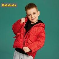 Balabala  chaqueta ligera con capucha para niños pequeños  con bolsillo abierto  chaqueta acolchada con capucha para niños  con forro de poliéster con cremallera completa