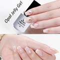 BORN PRETTY Opal Jelly Gel White Soak Off Gel Polish Manicure Nail Art UV Gel Varnish