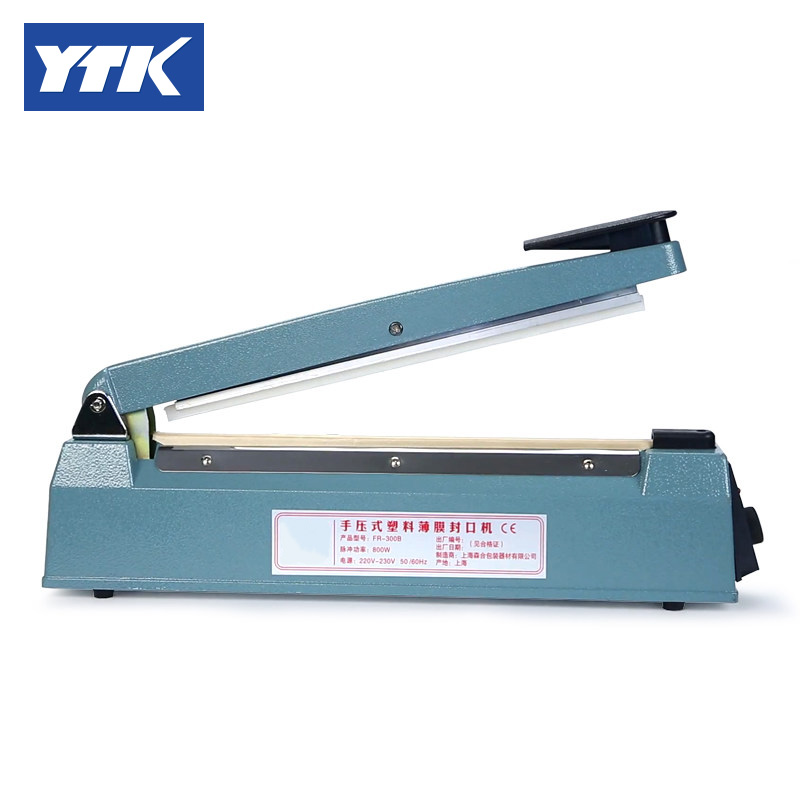 YTK Aluminium Bag Sealer Machine (sealing length 200mm) high quality aluminium bag sealer machine with sealing length 300mm 0905025l