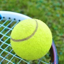 Упругой резинкой зеленый теннисные мячи спортивный турнир Открытый весело крикет пляж собака Бестселлер хорошее резиновая конкурс мяч