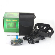 New 1x24 High Definition Helmeted Night Vision Binocular for Hunting Patrol Camping Travel night vision scope