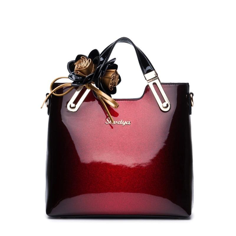 New 2018 brand luxury handbag women bag designer high quality patent leather shoulder messenger bags ladies office clutch totes new fashion women bag pu leather shoulder bags vintage designer messenger bag luxury ladies handbag clutch bags bolsa feminina