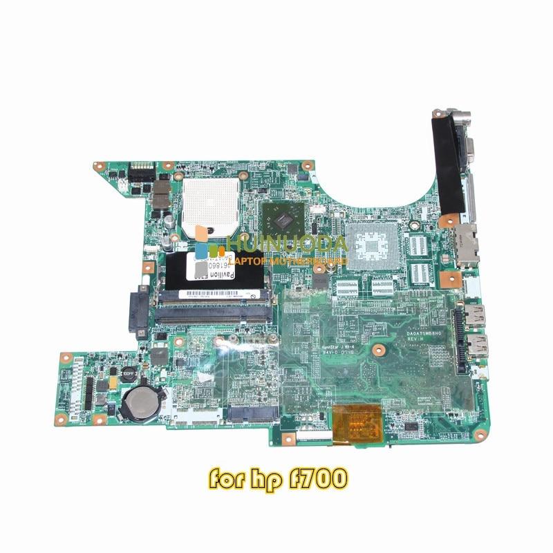 NOKOTION 461860-001 Mainbard for HP Compaq Presario F700 F750US Laptop Motherboard ddr2 nokotion 416903 001 laptop motherboard for hp compaq nx8220 nc8230 series intel 915pm with graphics card ati 9800 ddr2
