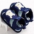 Прохладный Моды Новорожденный Ребенок Мальчик в Девочке Лето Малыш Ребенок Мягкой Подошве Anti-Slip Мультфильм Prewalker Детские Летние Туфли 0-1 Т