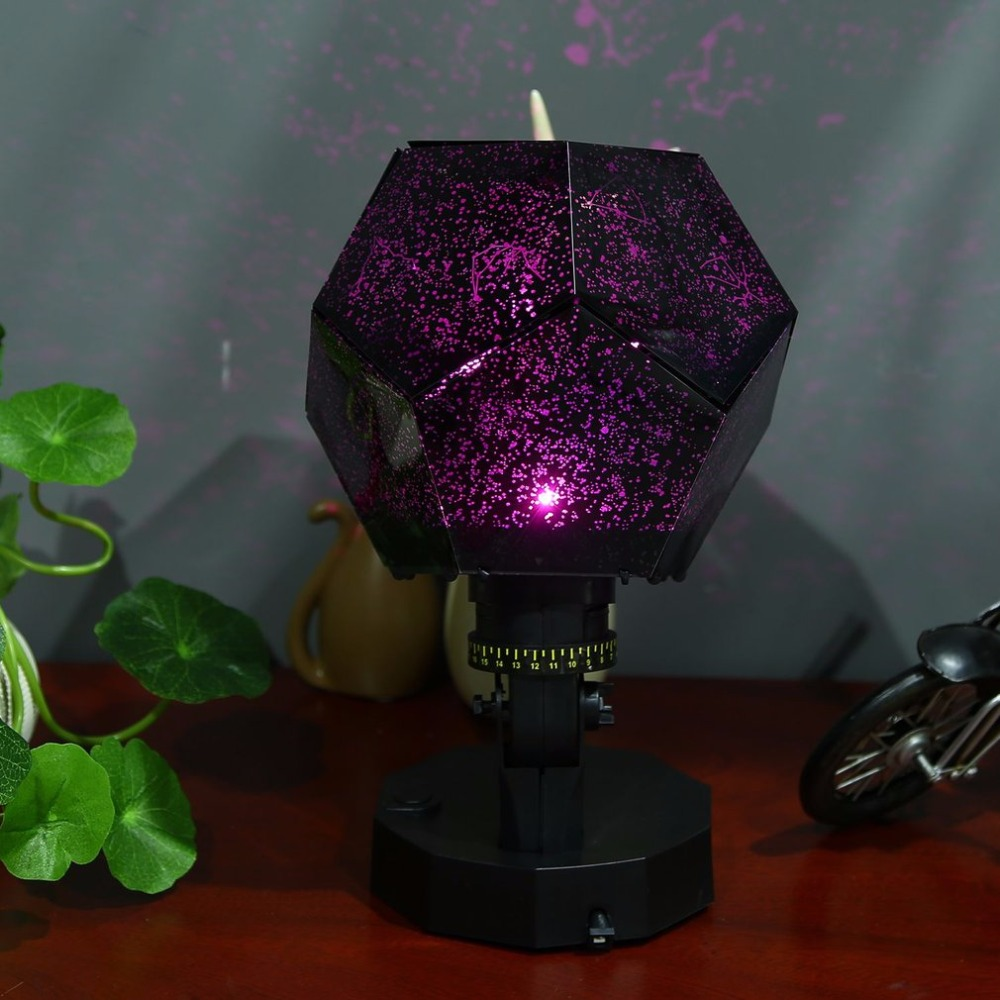 Night Light Celestial Star Sky Projector Revolving Lamp