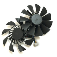 2pcs Lot EVERFLOW T129215SU 85mm 12V 0 5A Graphics Cooler For ASUS GTX780 GTX780TI R9 280X