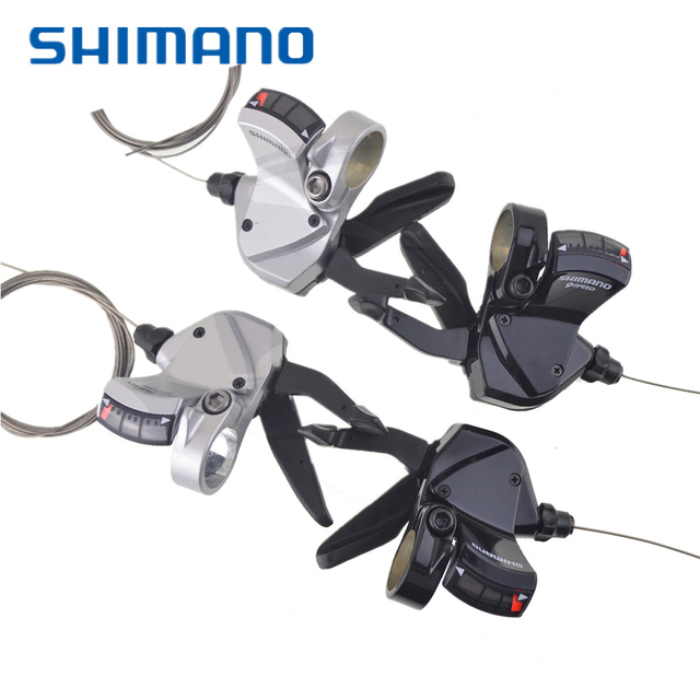 Shimano SL R440 R441 Shifters Flat Bar Triggle Left Right Hand 2