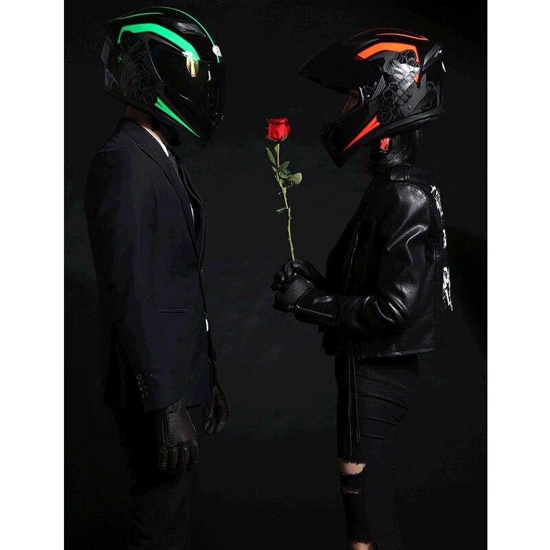 Best Sales Safe full face helmet motorcycle helmet with inner sun visor everybody affordable Size S