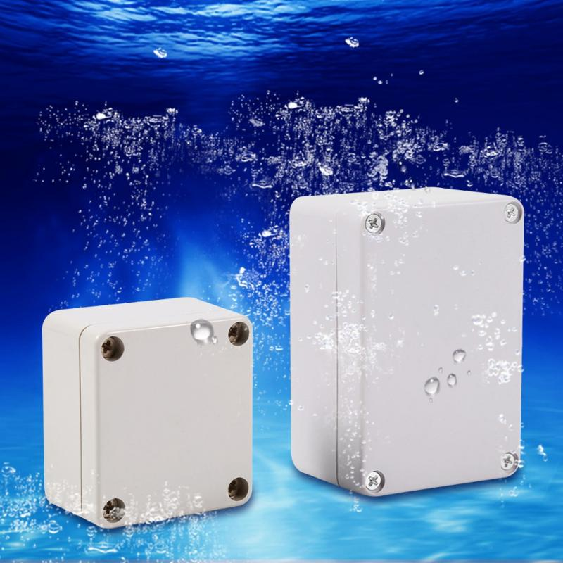 1 Piece Wiring Connection Box Waterproof Junction Boxes Connection Outdoor Waterproof Electrical Enclosure Small / Big Size