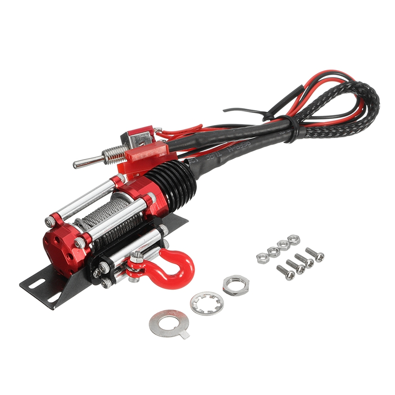 New Arrival Remote Control Automatic Crawler Winch Traction System For font b RC b font 1
