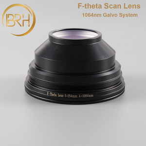 Image 3 - BRH F theta Lente Lente di Campo 1064nm di Scansione 50x50 300x300mm FL.63 420mm Filo M85X1 per Laser In Fibra marcatura di Parti di Macchine