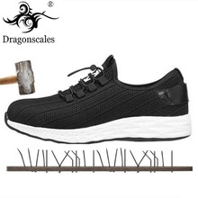 New Summer Breathable Comfort High Quality Work Safety Shoes Fashion Trend Wild Soles Internal Steel Head