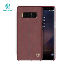 Nillkin Englon Cover For Samsung Galaxy Note 8 Case Luxury PU Leather Vintage Back Cover For