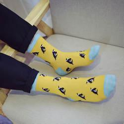 20 пар/лот новые мужские Носки и тенденции носки с принтом оптовая продажа