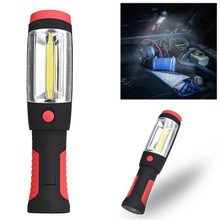 2in1 COB LED Camping Work Inspection Light Lamp Hand Torch Magnetic Flashight(China)