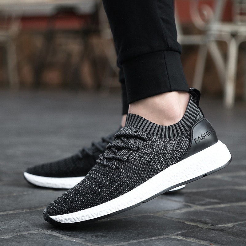 цены Breathable Mesh Shoes Men 2018 Sneakers Shoes Summer Casual Men Shoe Breathable Mans footwear Flats For Man 39-46
