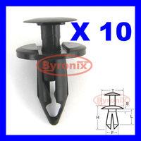 FOR VW SPLASH GUARD BUMPER TRIM PLASTIC PUSH RIVET CLIPS