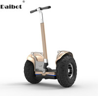 Daibot Off Road Electric Scooter 19 Inch Self Balancing Scooters 60V With APP GPS 2400W Samsung Battery Hoverboard Skateboard