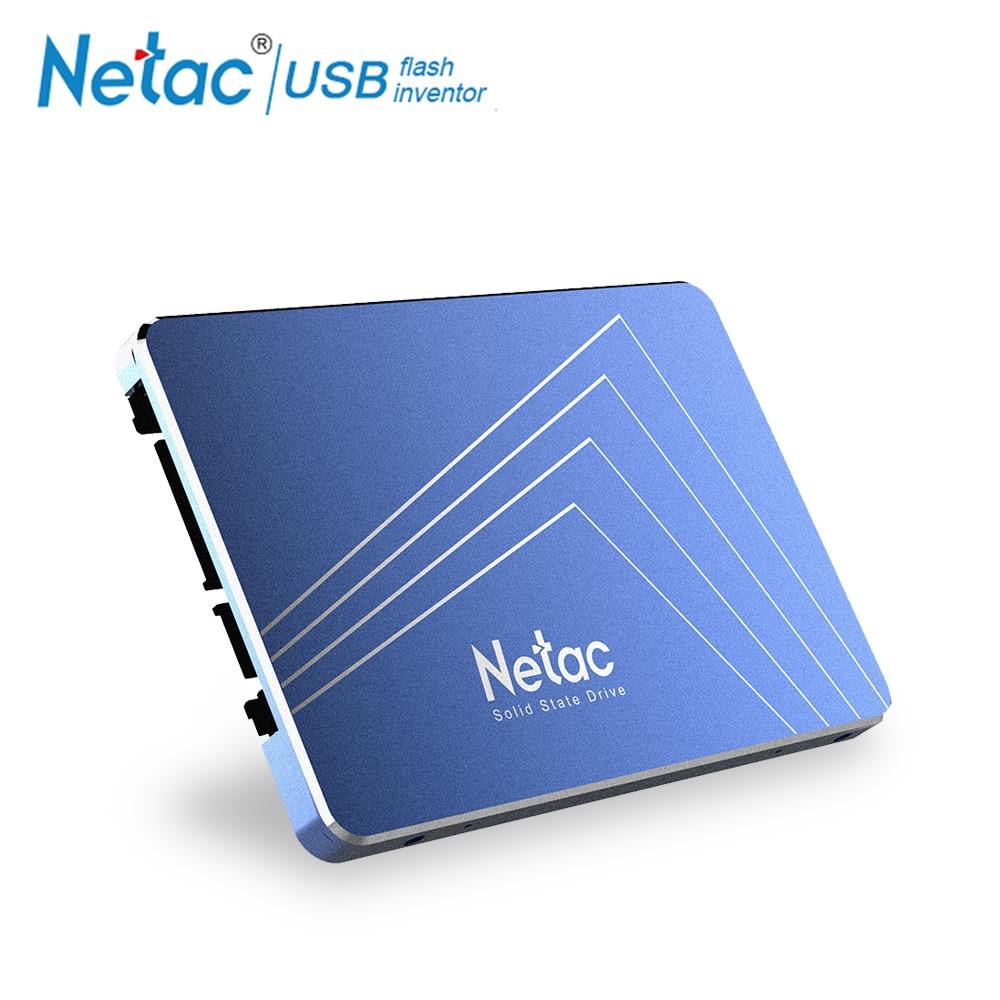 Netac Original 120GB 240 GB SSD Hard Disk TLC 2.5 Inch SATA 3.0 120 GB 240GB Internal Solid State Drive For Desktop Computer PC ssd 756642 b21 240 gb 2 5inch sata 6g solid state drive 1 year warranty