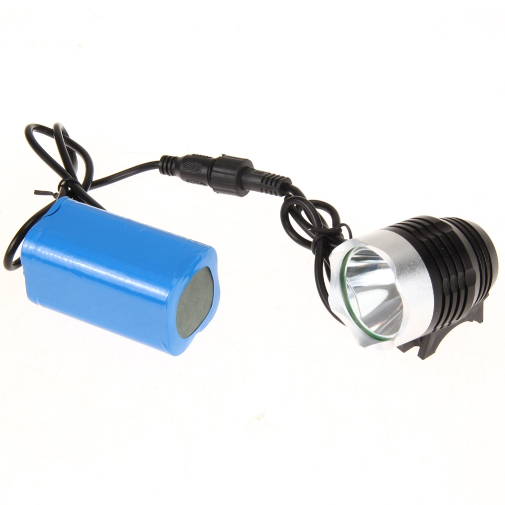 1200 Lumen Super Bright Waterproof Q5 LED Bicycle Bike Light Lamp Cycling HeadLight Headlamp +4400mAh Battery +Charger 1000led led gas station light 150w 16 000 lumen 500w 650w hid hps equal daylight 5 000 kevin ac100 277v waterproof ip65 canopy