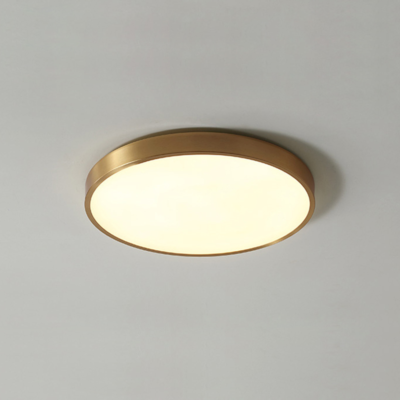 LED Modern Acryl copper Round 5cm Super Thin LED Lamp LED Light Ceiling Lights LED Ceiling