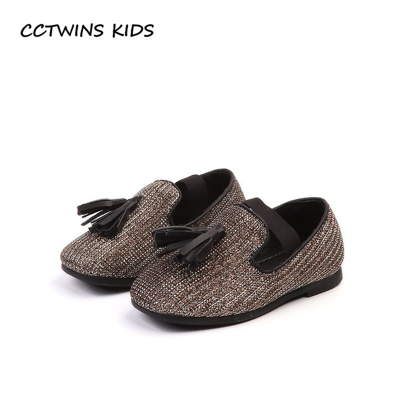 CCTWINS KIDS 2018 Autumn Baby Girl Brand Slip On Shoe Children Pu Leather Flat Toddler Fashion Tassel Loafer Black GL1962 adidas performance natweb i slip on shoe toddler