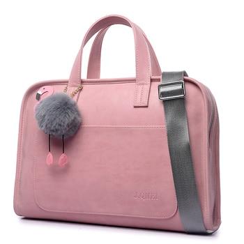 imitation leather laptop sleeve 14 inch men s bag case ultrabook notebook handbag for 14 inch jumper ezbook 3 bag Fashion Large Capacity laptop bag women Laptop briefcase Case Bag for Notebook Handbag shoulder bag 12 13.3 14 15.4 15.6 inch