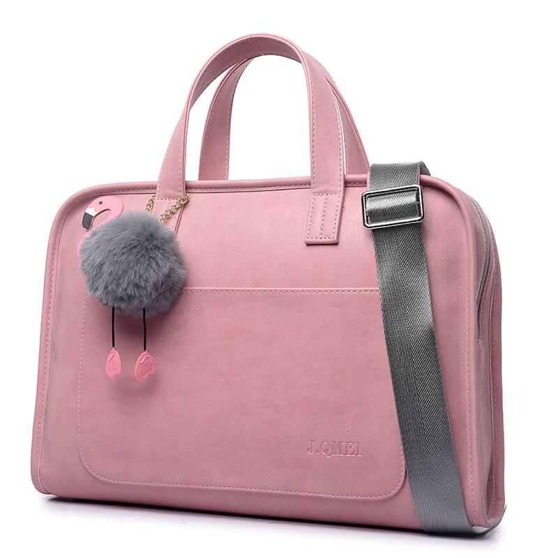 Bolsa do Portátil para Mulheres Maleta para Notebook Bolsa de Ombro Moda Grande Capacidade Case 13.3 14 15.4 15.6 Polegada 12