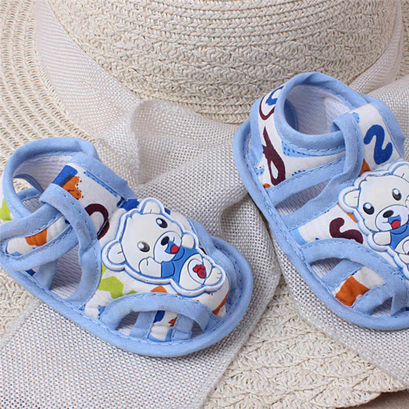 Huang Neeky W #5 2019 nueva moda bebé niña niño suela suave de dibujos animados Anti-slip zapatos casuales zapatos de niño sandalias lindo verano caliente